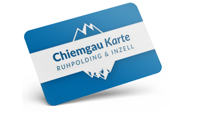 Chiemgau Karte - Ruhpolding - Inzell